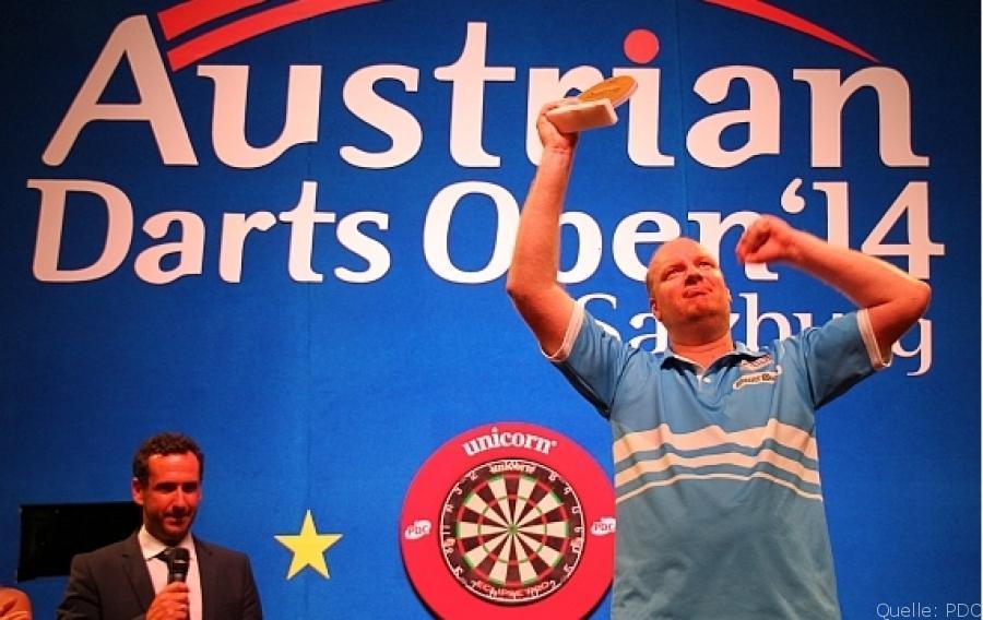 Van der Voort gewinnt die Austrian Darts Open 2014