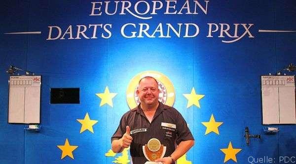European Darts Grand Prix 2014: Der King siegt