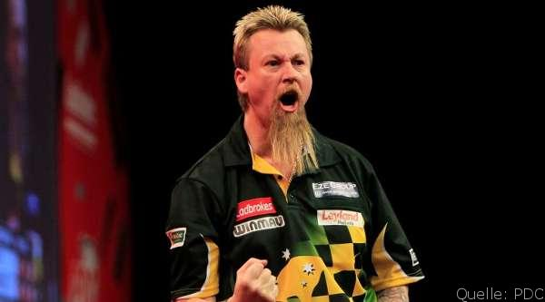 European Darts Open 2014: Tag 1