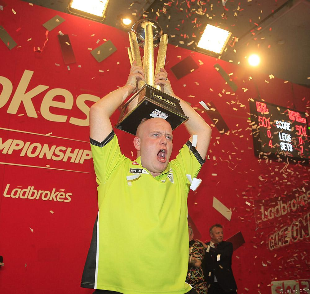 Michael van Gerwen im Interview