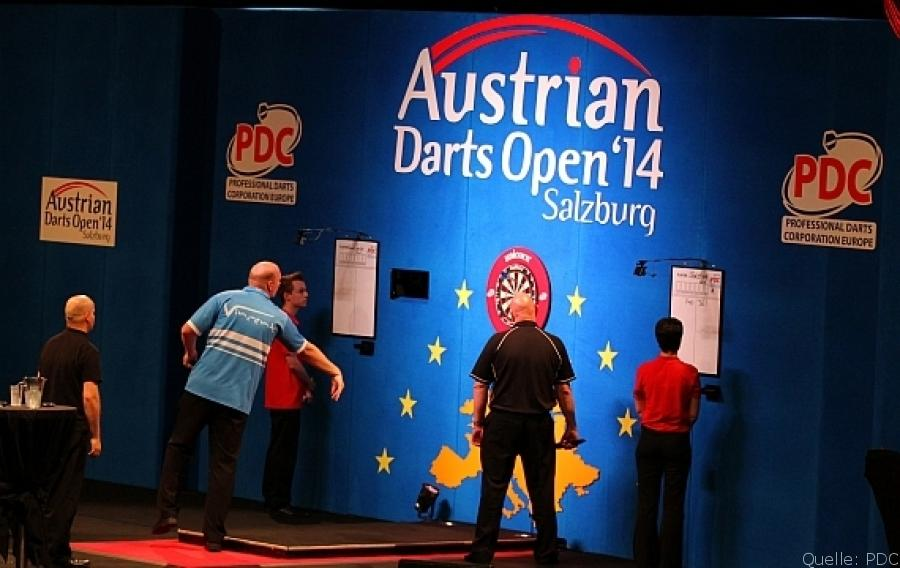 Austrian Darts Open 2014: Tag 1