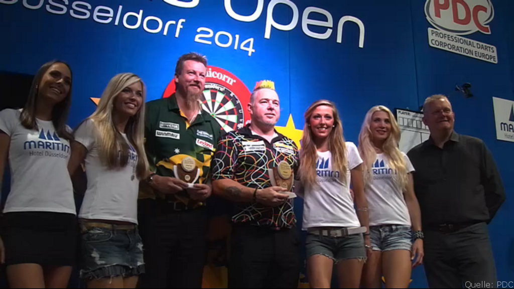 European Darts Open 2014: Peter Wright ist Champion